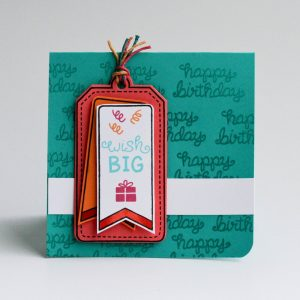 Lawn Fawn Clear Stamps 4″X6″ – Birthday Tags