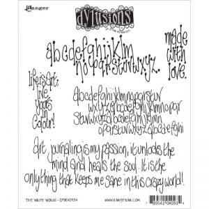 Dyan Reaveley's Dylusions Cling Stamp Collections 8.5″X7″ – The Write Words