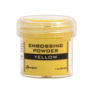 Embossing Powder .56oz Jar – Yellow