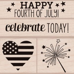 Hero Arts Mounted Rubber Stamp Set – 4th Of July