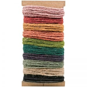 Idea-Ology Jute String 30yd – Assorted Colors