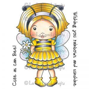 La-La Land Cling Mount Rubber Stamps – Bumble Bee Marci