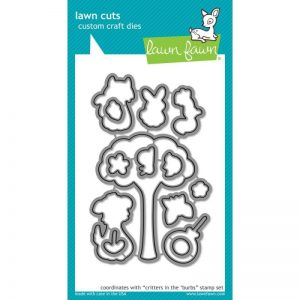 Lawn Cuts Custom Craft Die – Critters In The 'Burbs