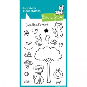 Lawn Fawn Clear Stamps 4″X6″ – Critters In The 'Burbs