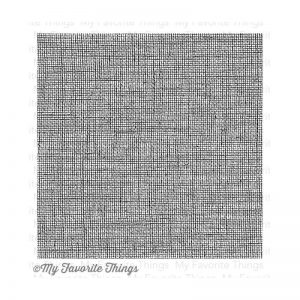 My Favorite Things Background Cling Rubber Stamp 6″X6″ – Linen