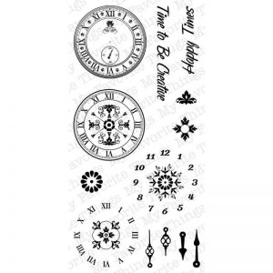 My Favorite Things Mona Pendleton Designs Stamps 4″X8″ Sheet – Timeless