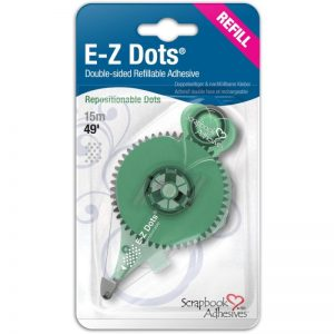 Scrapbook Adhesives E-Z Dots Refill – Repositionable, 49′, Use In 12046