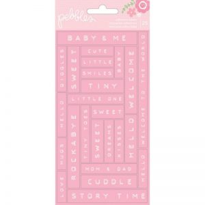 Special Delivery Girl Label Stickers 25/Pkg – Phrases