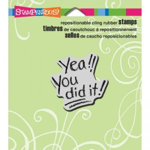 Stampendous Cling Rubber Stamp 3.5″X4″ Sheet