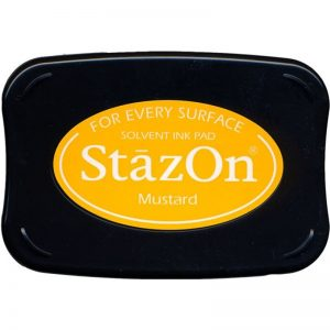 StazOn Solvent Ink Pad – Mustard
