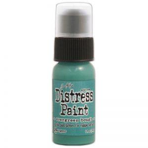 Tim Holtz Distress Paint 1oz Bottle – Evergreen Bough