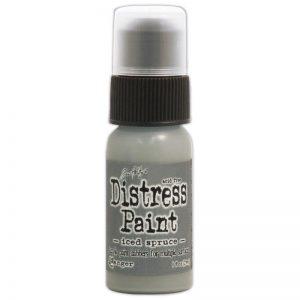Tim Holtz Distress Paint 1oz Bottle – Iced Spruce