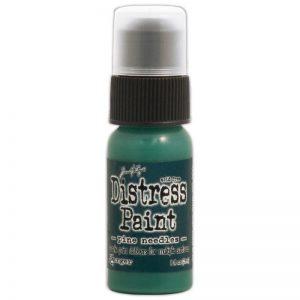 Tim Holtz Distress Paint 1oz Bottle – Pine Needles