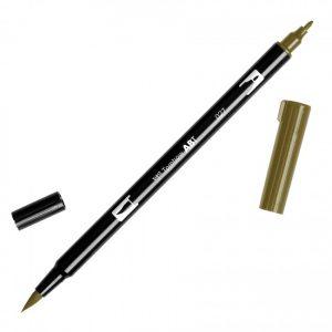 Tombow Dual Brush Marker – 027 Dark Ochre