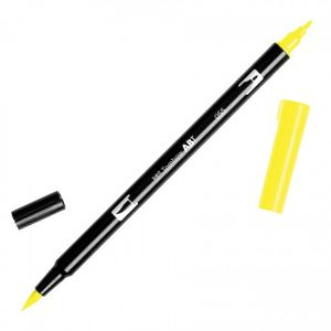Tombow Dual Brush Marker – 055 Process Yellow
