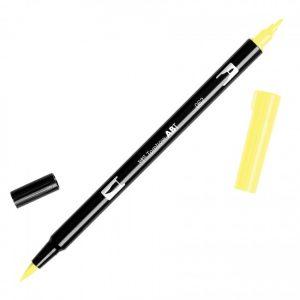 Tombow Dual Brush Marker – 062 Pale Yellow