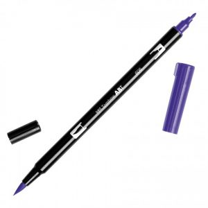 Tombow Dual Brush Marker – 606 Violet