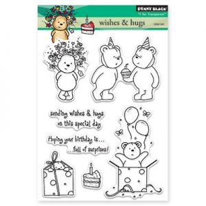 Penny Black Clear Stamps – Wishes & Hugs