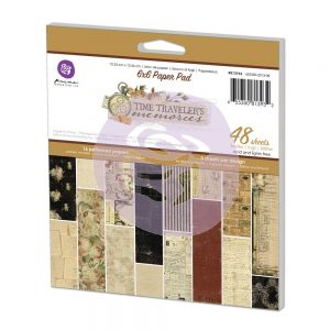 Prima 6×6 Paper Pad – Time Travelers Memories