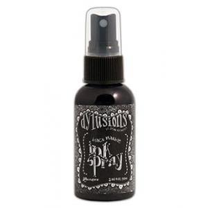 Dylusions Ink Spray Black Marble, 2oz
