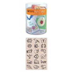 Hero Arts Ink 'n' Stamp Set, Nature