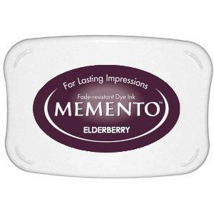 Memento Dye Ink Pad – Elderberry