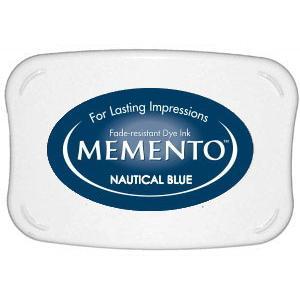 Memento Dye Ink Pad – Nautical Blue