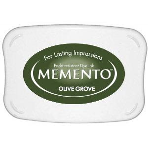 Memento Dye Ink Pad – Olive Grove