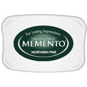 Memento Dye Ink Pad – Northern Pine