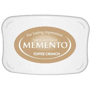 Memento Dye Ink Pad – Toffee Crunch