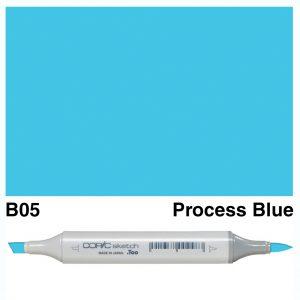 Copic Sketch B05-Process Blue