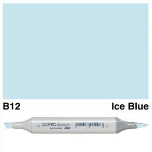 Copic Sketch B12-Ice Blue