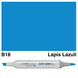 Copic Sketch B18-Lapis Lazuli