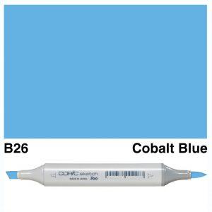 Copic Sketch B26-Cobalt Blue
