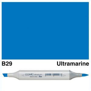 Copic Sketch B29-Ultramarine