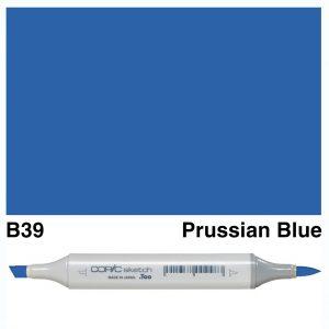 Copic Sketch B39-Prussian Blue