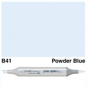 Copic Sketch B41-Powder Blue