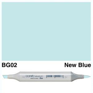 Copic Sketch BG02-New Blue