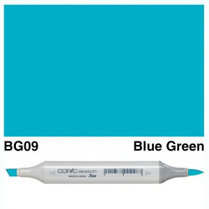 Copic Sketch BG09-Blue Green