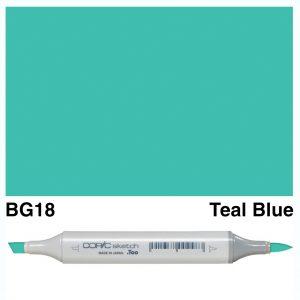 Copic Sketch BG18-Teal Blue