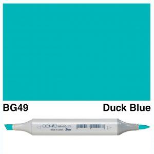 Copic Sketch BG49-Duck Blue