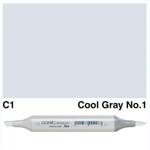 Copic Sketch C1-Cool Gray No.1