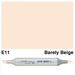 Copic Sketch E11-Bareley Beige