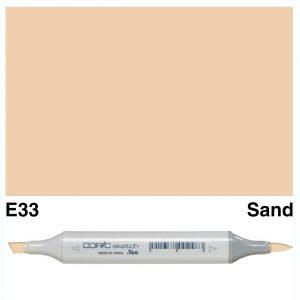 Copic Sketch E33-Sand
