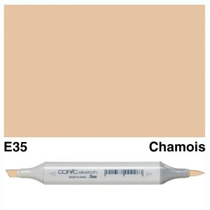 Copic Marker Sketch E35 Chamois