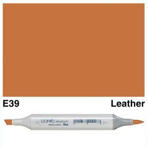Copic Sketch E39-Leather