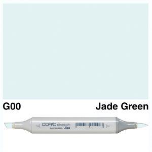 Copic Sketch G00-Jade Green