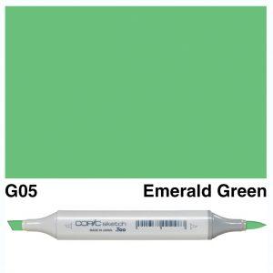 Copic Sketch G05-Emerald Green