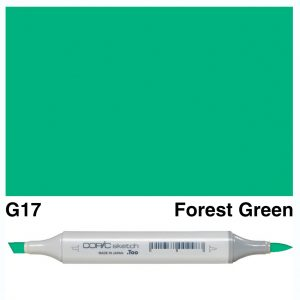 Copic Sketch G17-Forest Green