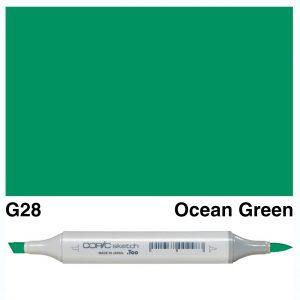 Copic Sketch G28-Ocean Green